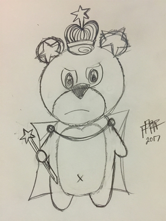 king-teddy-sketch