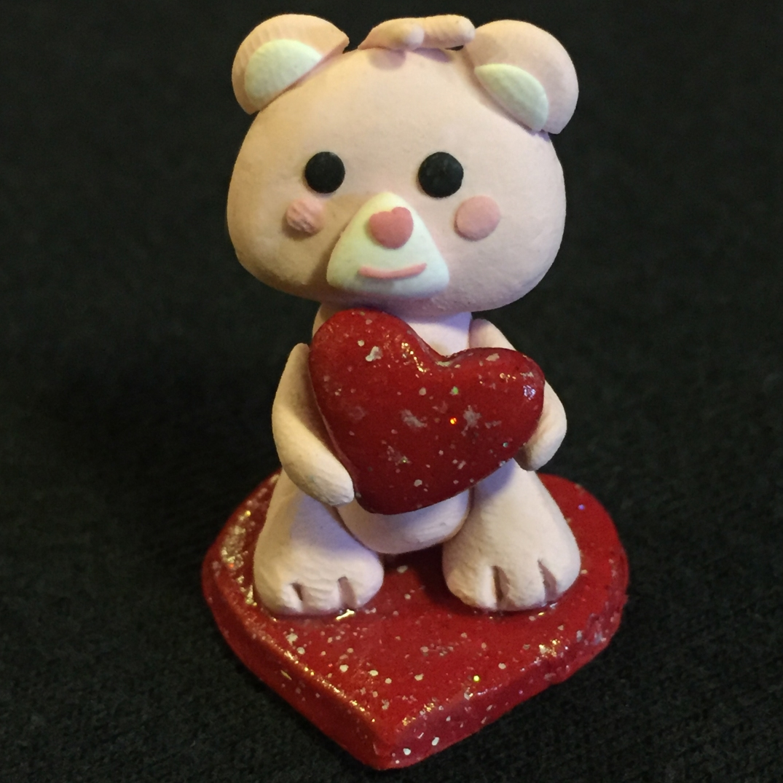 Pink Bear SQAURE