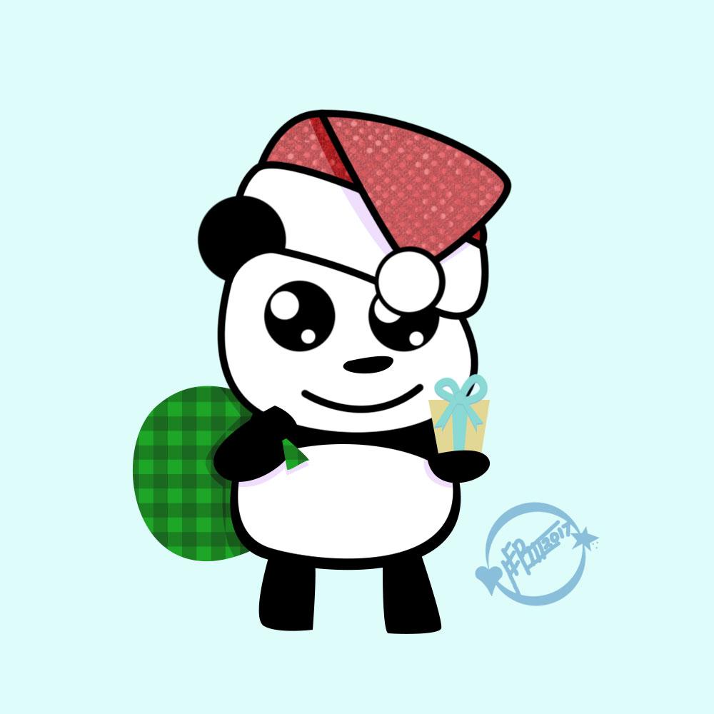 Christmas-Panda